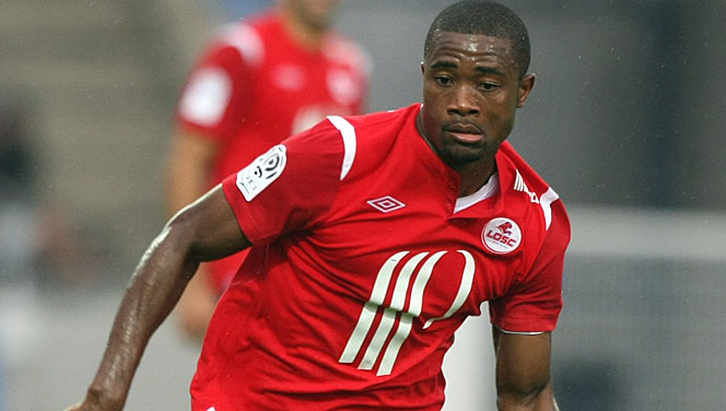 Aurelien Chedjou in action for Lille