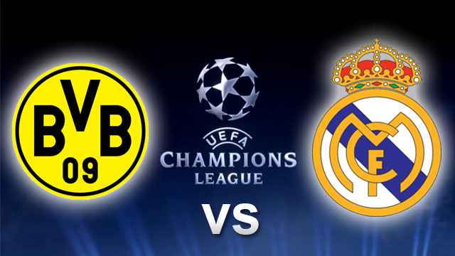 Hasil Borussia Dortmund vs Real Madrid