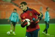 Spain national team training in Minsk