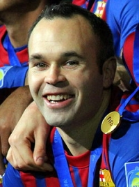Andrés Iniesta photo